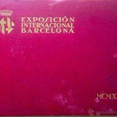 Libros antiguos: EXPOSICIÓN INTERNACIONAL BARCELONA-MCMXXIX-87 FOTOGRAFIAS TAMAÑO 24,00 X 34,00-. Lote 49477957