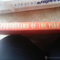Libros antiguos: PHOTOGRAMS OF THE YEAR. Lote 50027357
