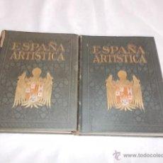 Libros antiguos: ESPAÑA ARTISTICA Y MONUMENTAL TOMOS I-II. Lote 50069011
