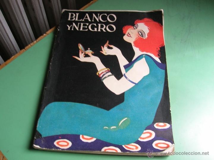 REVISTA BLANCO Y NEGRO AÑO 1925 (Libros Antiguos, Raros y Curiosos - Bellas artes, ocio y coleccion - Diseño y Fotografía)