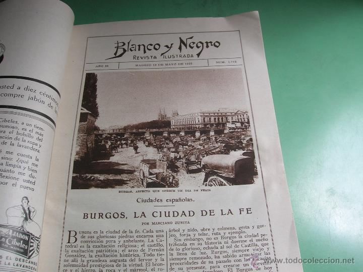 Libros antiguos: Revista Blanco y Negro año 1925 - Foto 2 - 50428097