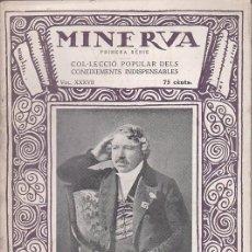Libros antiguos: MINERVA 1ª SERIE VOL. XXXVII - RAFAEL GARRIGA ROCA : MANIPULACIONS FOTOGRÀFIQUES - 1922. Lote 51634505