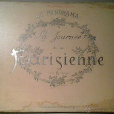 Libros antiguos: REUTLINGER. LA JOURNÉE DE LA PARISIENNE. LE PANORAMA. CA 1910. FOTOGRAFÍA ERÓTICA. FOTOMONTAJE.. Lote 52569950