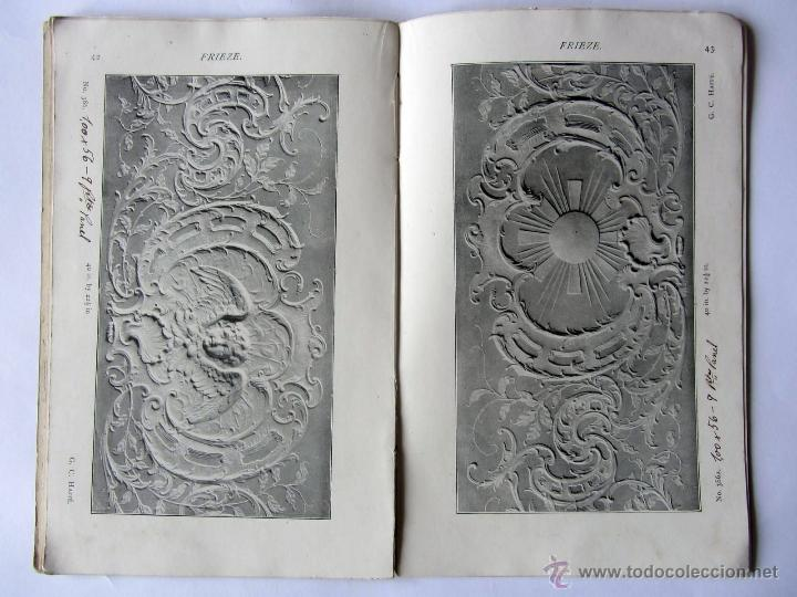 Libros antiguos: The Anaglypta decoration in relief. Paris 1900 - Foto 3 - 52904338