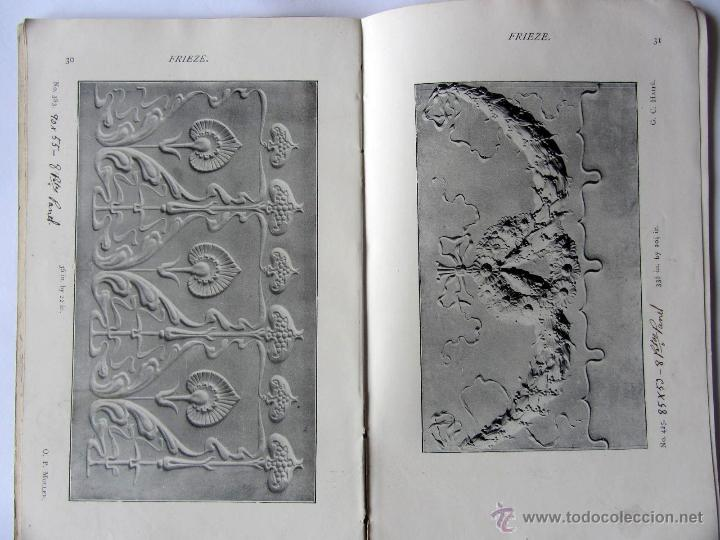 Libros antiguos: The Anaglypta decoration in relief. Paris 1900 - Foto 4 - 52904338