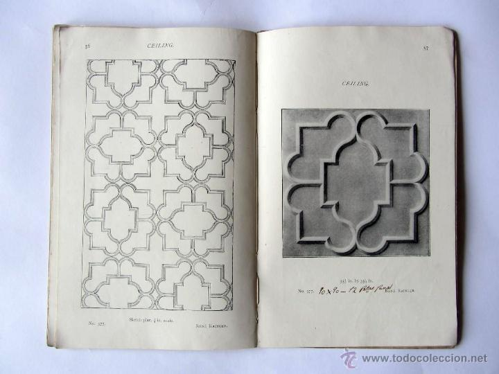 Libros antiguos: The Anaglypta decoration in relief. Paris 1900 - Foto 6 - 52904338