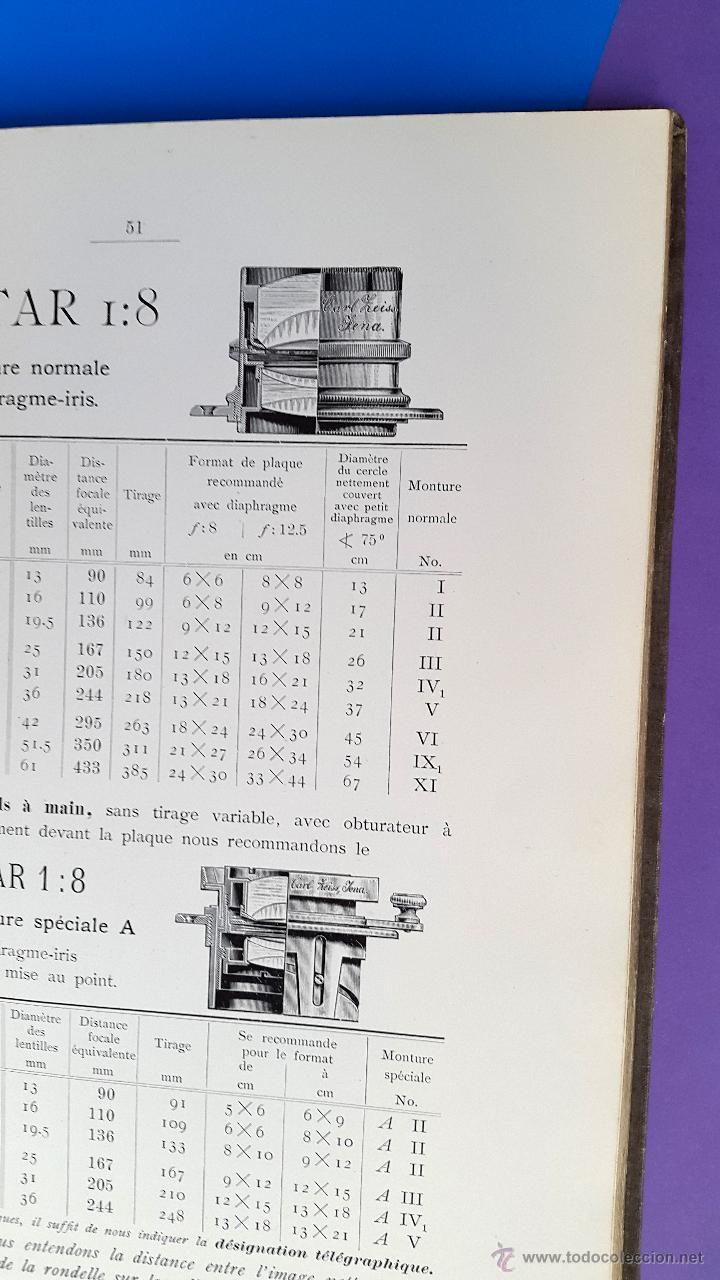 Libros antiguos: CARL ZEISS - Optische Werkstaette - Jena Catalogue - 1901 - Foto 4 - 53281472