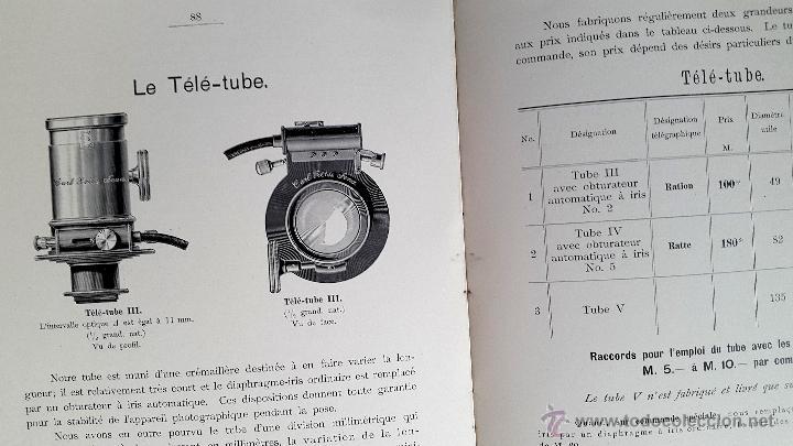 Libros antiguos: CARL ZEISS - Optische Werkstaette - Jena Catalogue - 1901 - Foto 5 - 53281472