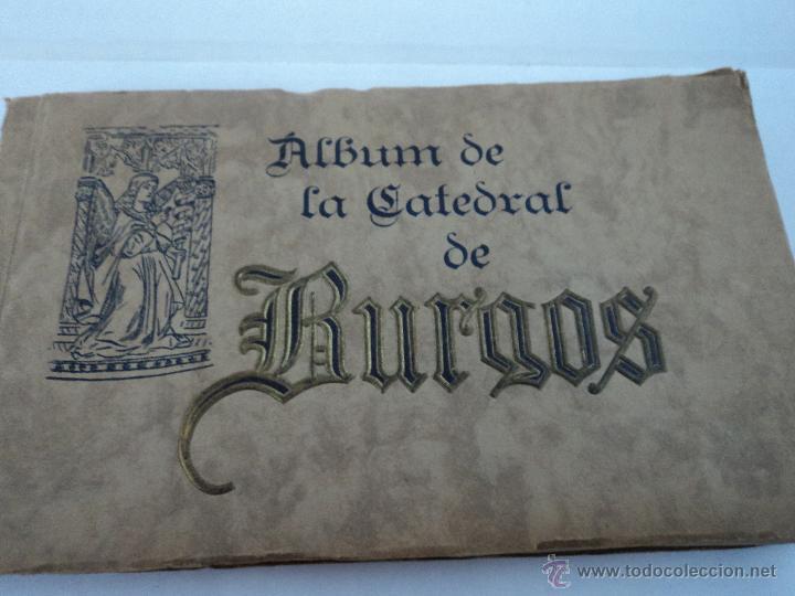 ALBUM 72 FOTOTIPIAS DE LA CATEDRAL DE BURGOS HAUSER Y MENET (Libros Antiguos, Raros y Curiosos - Bellas artes, ocio y coleccion - Diseño y Fotografía)