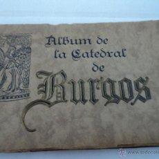 Libros antiguos: ALBUM 72 FOTOTIPIAS DE LA CATEDRAL DE BURGOS HAUSER Y MENET. Lote 197702707
