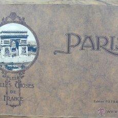 Libros antiguos: ÁLBUM FOTOGRAFÍA. LES BELLES CHOSES DE FRANCE. PARIS. ED. L.J. PATRAS. C. 1930. . Lote 54035764