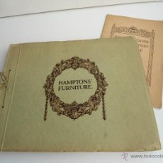 Libros antiguos: HAMPTONS FURNITURE - DECORATION AND FURNITU. IN THE PERIOD STYLES - HAMPTON & SONS - CATÁLOGO (1900). Lote 54561793