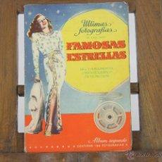 Libros antiguos: 5848 - ULTIMAS FOTOGRAFIAS DE LAS MAS FAMOSAS ESTRELLAS. EDI.BRUGUERA. 4 ALBUM. S.F. Lote 48772394
