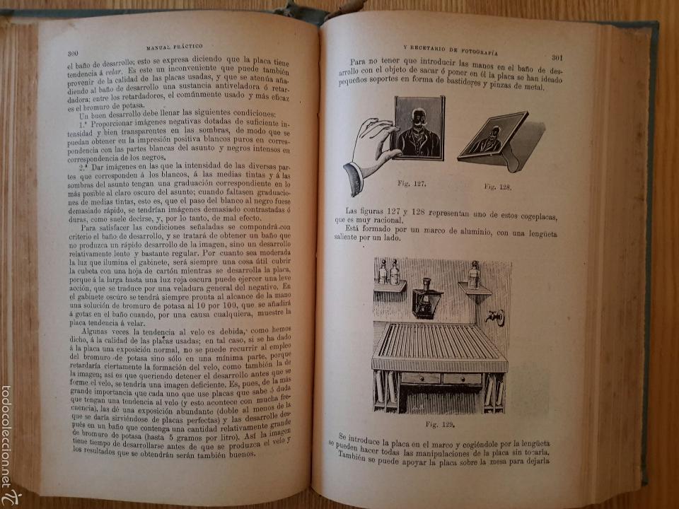 Libros antiguos: Rodolfo Namias. Manual práctico y Recetario de Fotografía.1912. 3a. ed.Casa ed. Bailly-Baillere - Foto 3 - 56004956