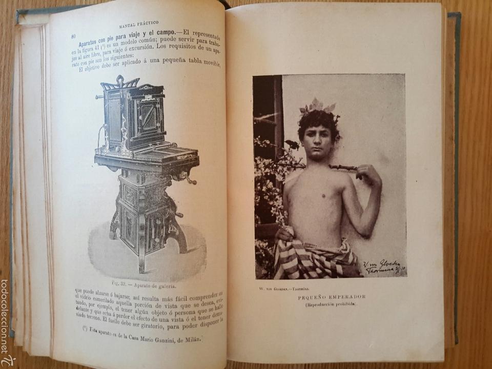 Libros antiguos: Rodolfo Namias. Manual práctico y Recetario de Fotografía.1912. 3a. ed.Casa ed. Bailly-Baillere - Foto 4 - 56004956