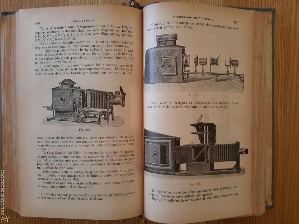 Libros antiguos: Rodolfo Namias. Manual práctico y Recetario de Fotografía.1912. 3a. ed.Casa ed. Bailly-Baillere - Foto 5 - 56004956