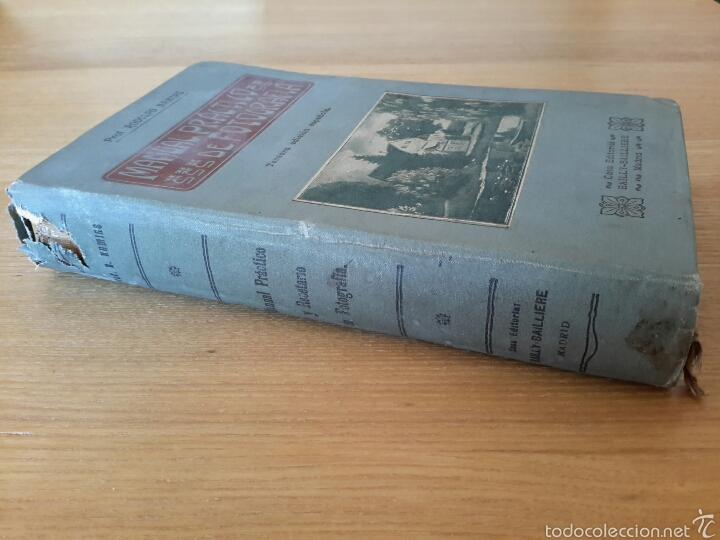 Libros antiguos: Rodolfo Namias. Manual práctico y Recetario de Fotografía.1912. 3a. ed.Casa ed. Bailly-Baillere - Foto 7 - 56004956