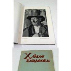 Libros antiguos: FOTOGRAFÍA. CATÁLOGO DEL 10º SALÓN DE ZARAGOZA, AÑO 1934. 70 PAG. 22X28CM. ORTIZ ECHAGÜE, ETC. VER.. Lote 56338137
