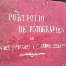 Libros antiguos: BONITO LIBRO DE FINALES DEL SIGLO XIX. DE PAISAJES. Lote 57219604