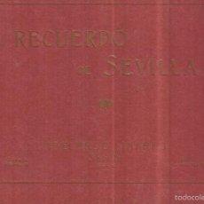 Libros antiguos: RECUERDOS DE SEVILLA. ABELARDO LINARES. SEVILLA. 18 FOTOGRAFÍAS. Lote 58275094