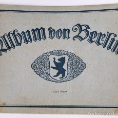Libros antiguos: ALBUM 31 FOTOS DE BERLIN 1910, TAMAÑO 24X33 CM. ALBUM VON BERLIN, GLOBUS VERLAG G.M.B.H. . Lote 58404043