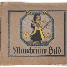 Libros antiguos: ALBUM 46 FOTOS DE MÜNCHEN 1910, TAMAÑO 27X33 CM. MÜNCHEN BILD , VERLAG MONACHIA HERMANN TIETZ . Lote 58404233