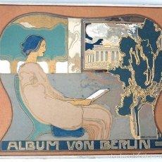 Libros antiguos: ALBUM 137 FOTOS DE BERLIN 1905, TAMAÑO 27X35 CM. ALBUM VON BERLIN, GLOBUS VERLAG G.M.B.H. . Lote 58404355
