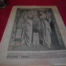 Libros antiguos: ANTIGUA REVISTA EL HOGAR Y LA MODA.AÑO 1913. Lote 58638800