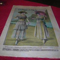 Libros antiguos: ANTIGUA REVISTA EL HOGAR Y LA MODA,AÑO 1915. Lote 58638891
