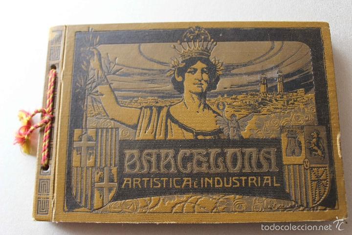 ALBUM BARCELONA ARTÍSTICA E INDUSTRIAL. EMILIO CANET. FOTOGRAFIA HISTORIA CIUDAD. 1918 (Libros Antiguos, Raros y Curiosos - Bellas artes, ocio y coleccion - Diseño y Fotografía)