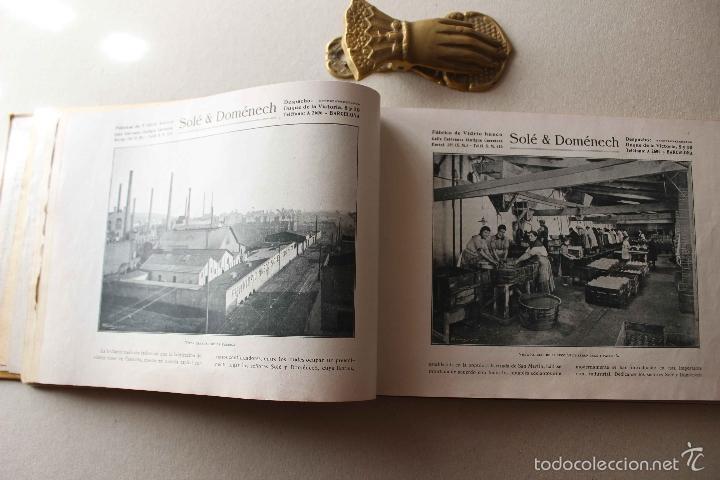 Libros antiguos: Album Barcelona artística e industrial. Emilio Canet. Fotografia Historia Ciudad. 1918 - Foto 5 - 60412851