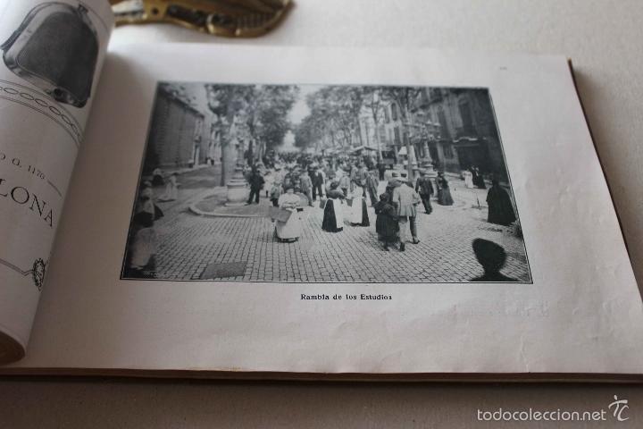 Libros antiguos: Album Barcelona artística e industrial. Emilio Canet. Fotografia Historia Ciudad. 1918 - Foto 8 - 60412851