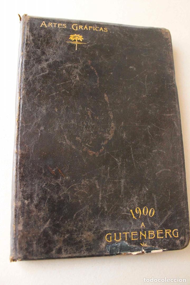 Libros antiguos: Revista Gràfica en el V centenari d'en Gutenberg. Institut Català d'Arts del Llibre. 1900 Canivell - Foto 2 - 61821556