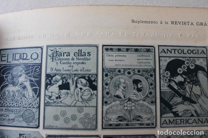 Libros antiguos: Revista Gràfica en el V centenari d'en Gutenberg. Institut Català d'Arts del Llibre. 1900 Canivell - Foto 11 - 61821556
