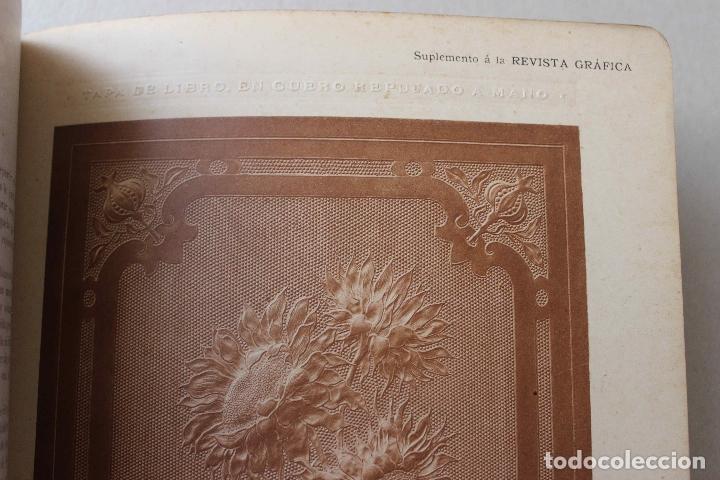 Libros antiguos: Revista Gràfica en el V centenari d'en Gutenberg. Institut Català d'Arts del Llibre. 1900 Canivell - Foto 12 - 61821556
