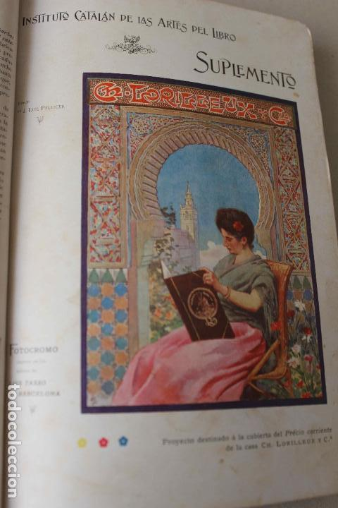 Libros antiguos: Revista Gràfica en el V centenari d'en Gutenberg. Institut Català d'Arts del Llibre. 1900 Canivell - Foto 15 - 61821556