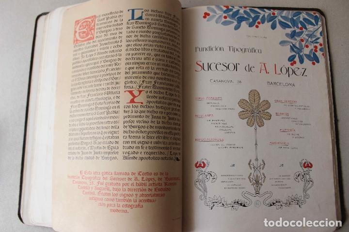 Libros antiguos: Revista Gràfica en el V centenari d'en Gutenberg. Institut Català d'Arts del Llibre. 1900 Canivell - Foto 18 - 61821556
