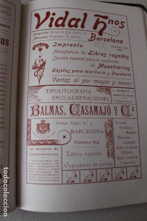 Libros antiguos: Revista Gràfica en el V centenari d'en Gutenberg. Institut Català d'Arts del Llibre. 1900 Canivell - Foto 20 - 61821556