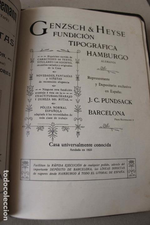Libros antiguos: Revista Gràfica en el V centenari d'en Gutenberg. Institut Català d'Arts del Llibre. 1900 Canivell - Foto 21 - 61821556