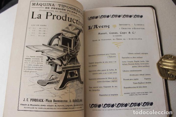 Libros antiguos: Revista Gràfica en el V centenari d'en Gutenberg. Institut Català d'Arts del Llibre. 1900 Canivell - Foto 22 - 61821556
