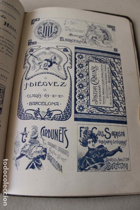 Libros antiguos: Revista Gràfica en el V centenari d'en Gutenberg. Institut Català d'Arts del Llibre. 1900 Canivell - Foto 23 - 61821556