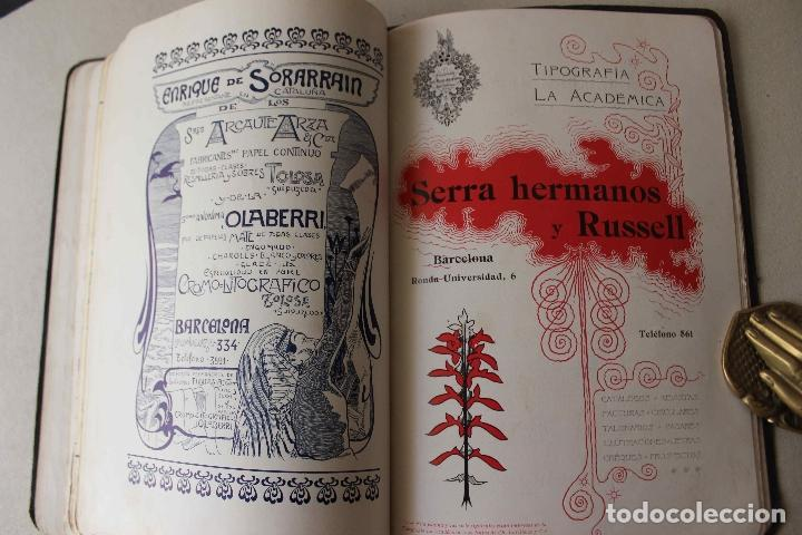 Libros antiguos: Revista Gràfica en el V centenari d'en Gutenberg. Institut Català d'Arts del Llibre. 1900 Canivell - Foto 24 - 61821556