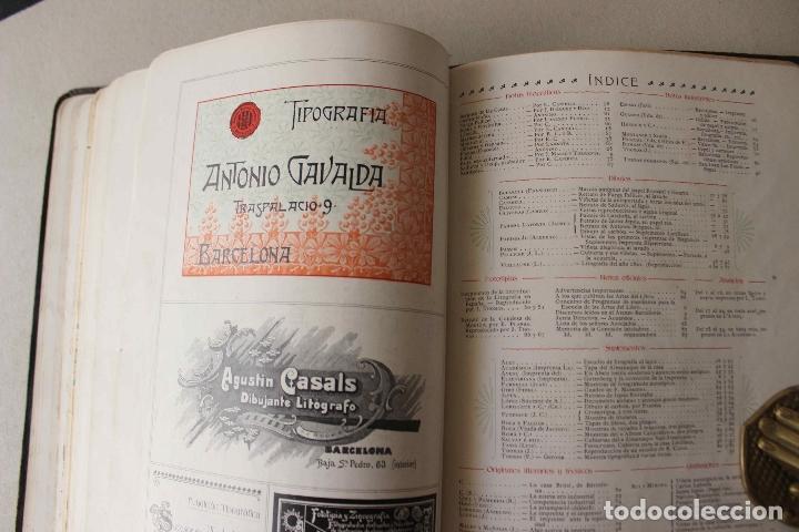 Libros antiguos: Revista Gràfica en el V centenari d'en Gutenberg. Institut Català d'Arts del Llibre. 1900 Canivell - Foto 25 - 61821556