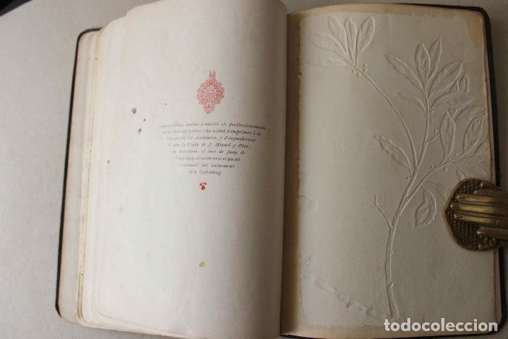 Libros antiguos: Revista Gràfica en el V centenari d'en Gutenberg. Institut Català d'Arts del Llibre. 1900 Canivell - Foto 26 - 61821556