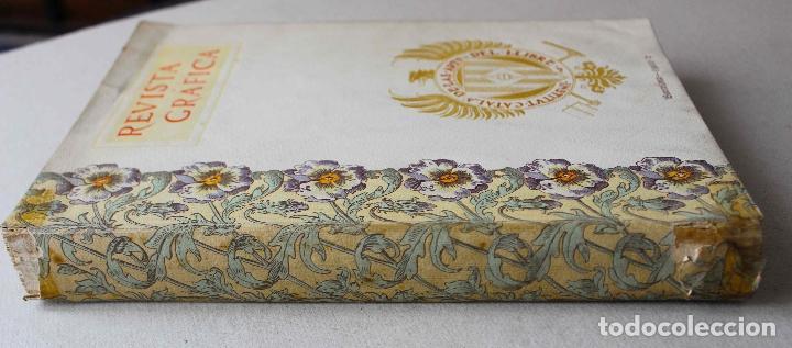 Libros antiguos: Revista grafica. Institut Català Arts del Llibre. 1901 num 419/1100. Canivell. Oliva de Vilanova - Foto 2 - 61851012