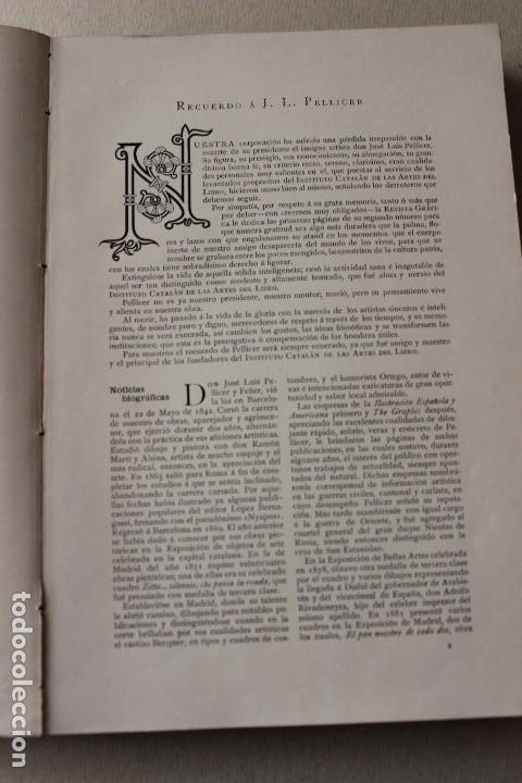 Libros antiguos: Revista grafica. Institut Català Arts del Llibre. 1901 num 419/1100. Canivell. Oliva de Vilanova - Foto 8 - 61851012