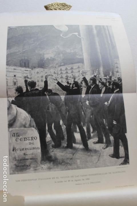 Libros antiguos: Revista grafica. Institut Català Arts del Llibre. 1901 num 419/1100. Canivell. Oliva de Vilanova - Foto 9 - 61851012