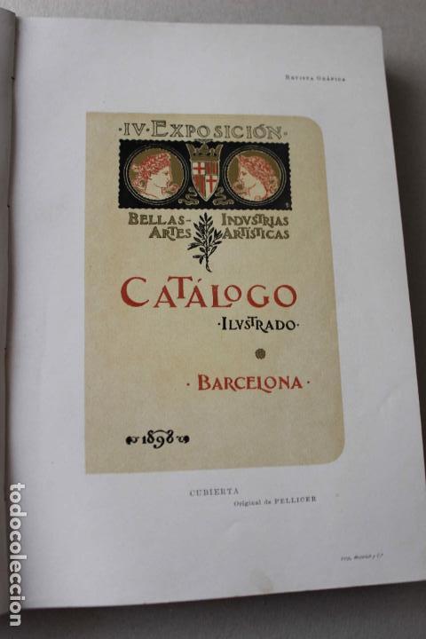 Libros antiguos: Revista grafica. Institut Català Arts del Llibre. 1901 num 419/1100. Canivell. Oliva de Vilanova - Foto 10 - 61851012