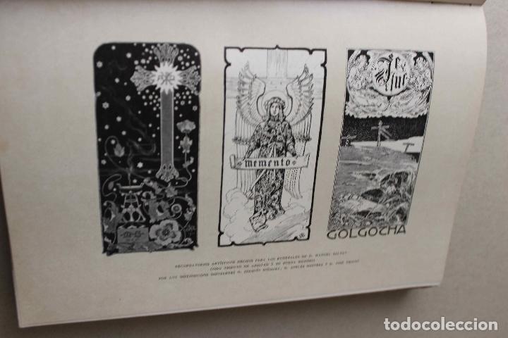 Libros antiguos: Revista grafica. Institut Català Arts del Llibre. 1901 num 419/1100. Canivell. Oliva de Vilanova - Foto 17 - 61851012