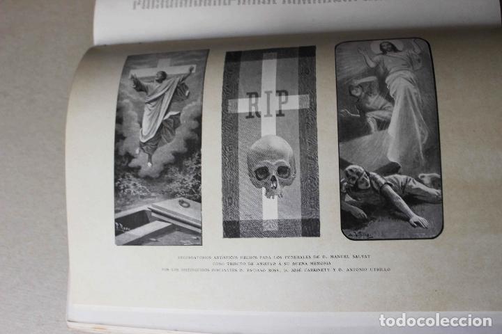 Libros antiguos: Revista grafica. Institut Català Arts del Llibre. 1901 num 419/1100. Canivell. Oliva de Vilanova - Foto 18 - 61851012